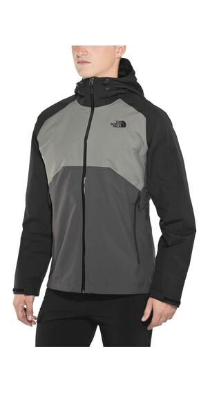 The North Face Stratos Jacket Men Asphalt Grey/Fusebox Grey/TNF Black
